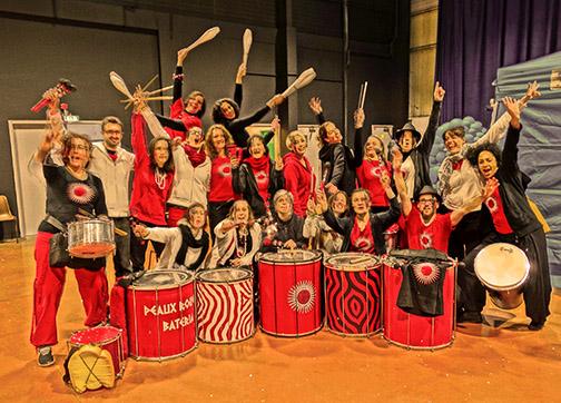 Peaux Rouges Bateria - Carnaval Colomiers