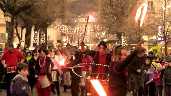 Akouma et Peaux Rouges - Carnaval Luchon